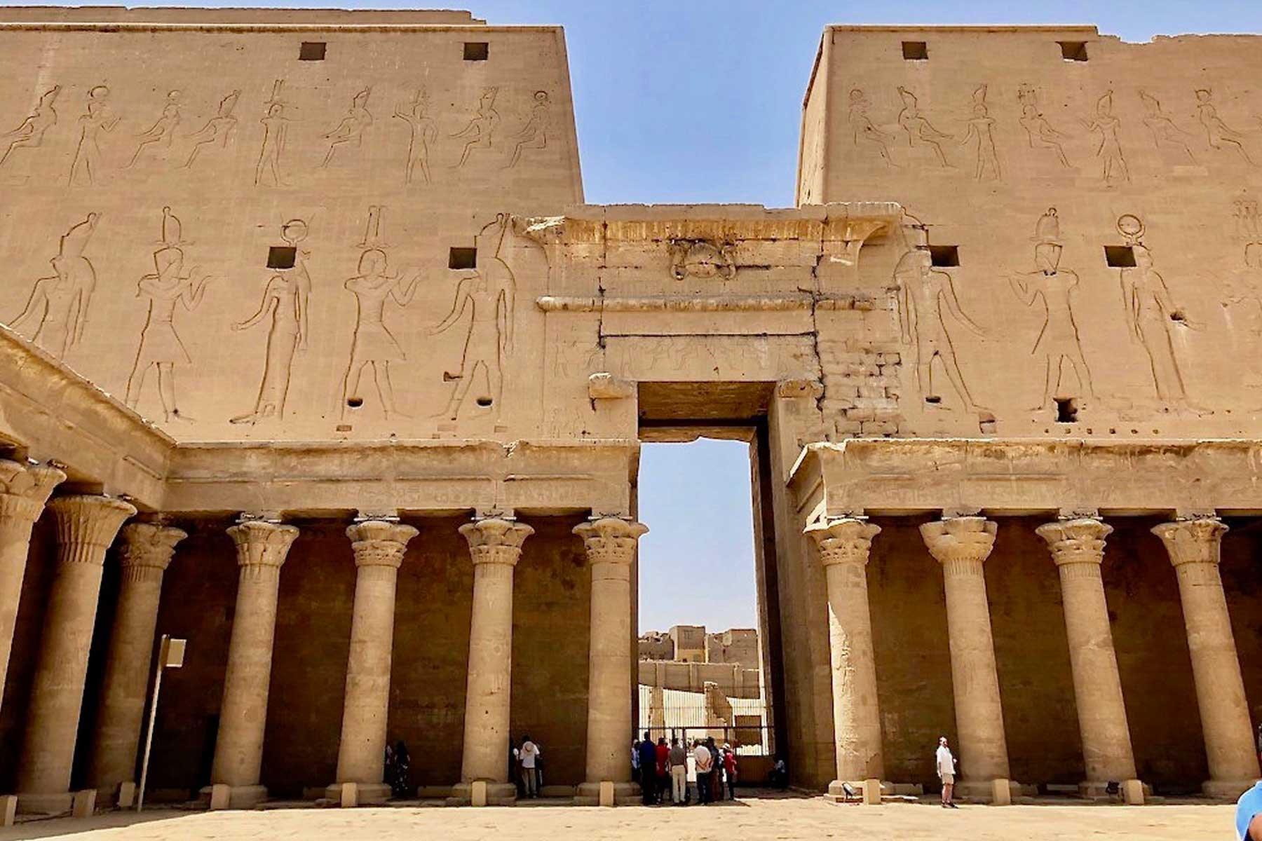 the temple of Edfu