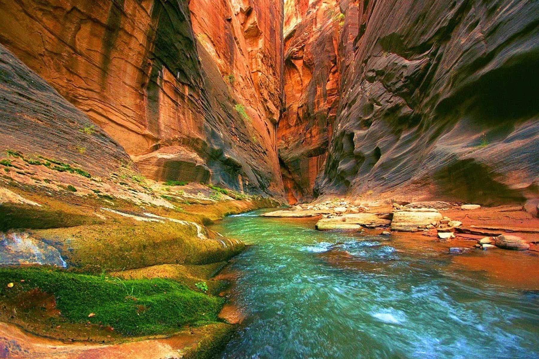 Coloured canyon sharm el sheikh