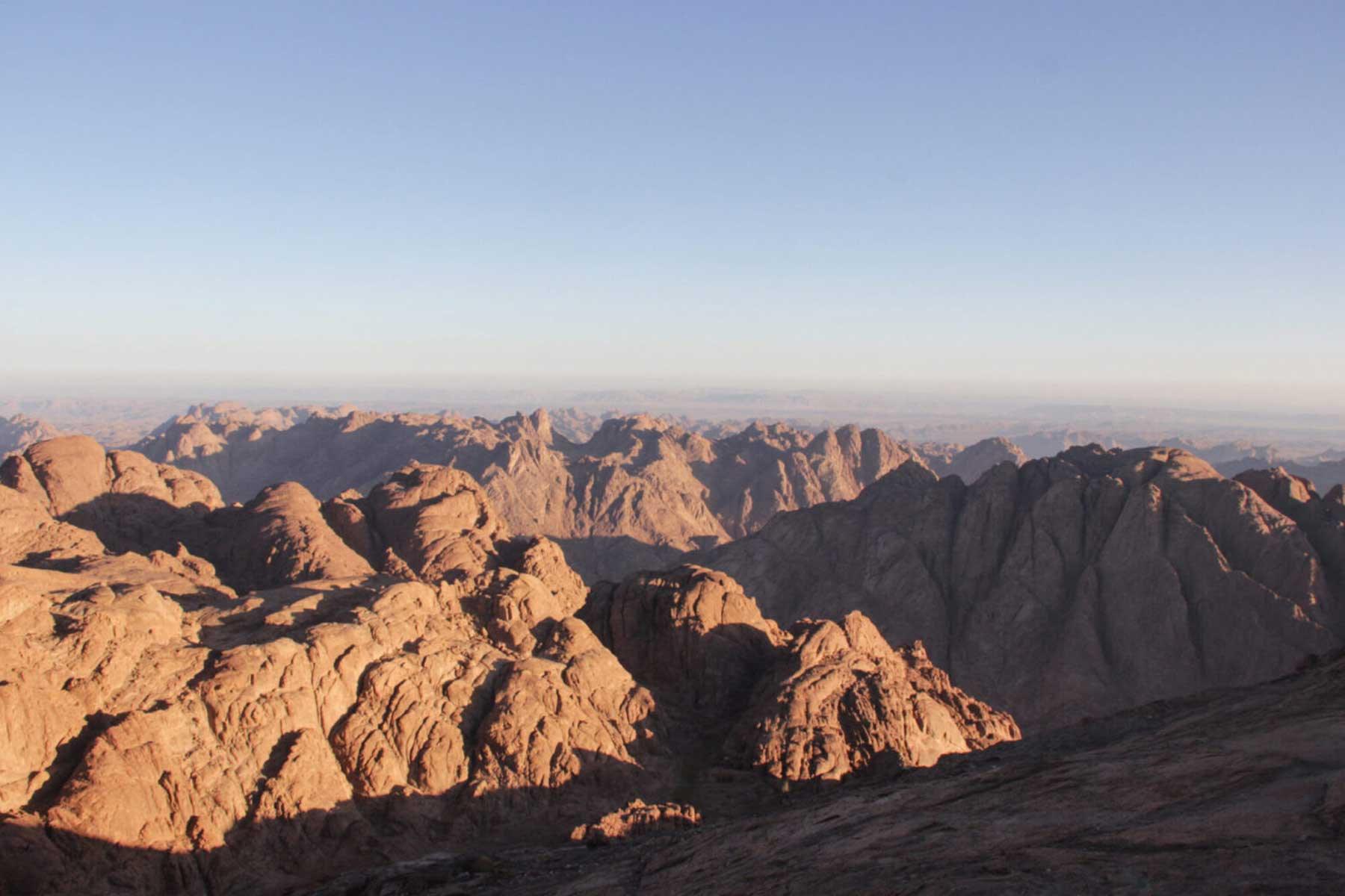 Sinai Mountain Egypt