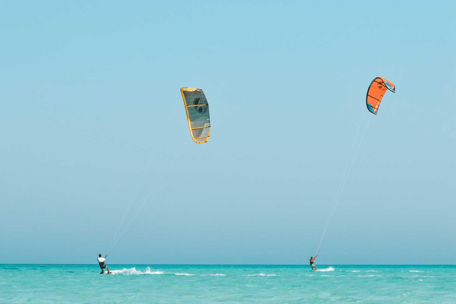 kite surfing el gouna