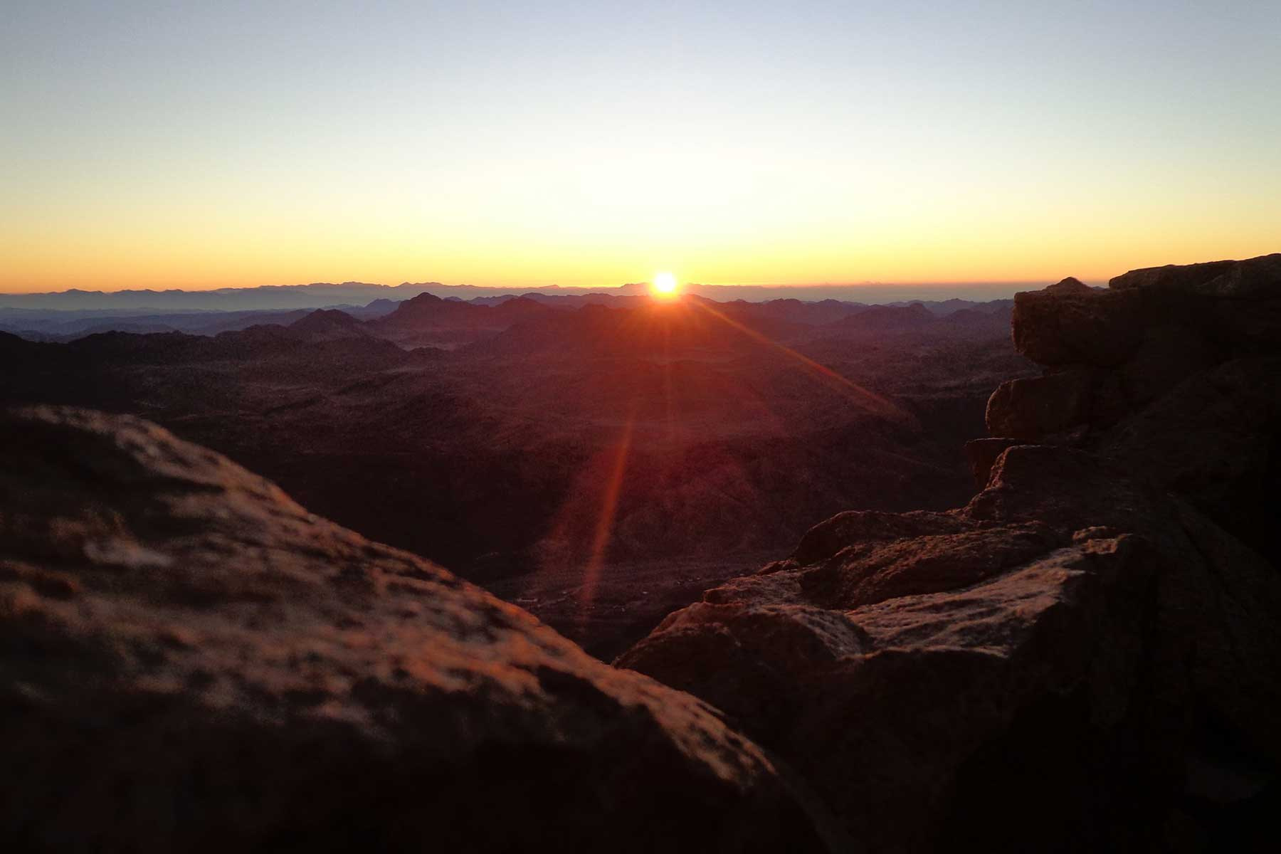 Mount Sinai Sunrise hike
