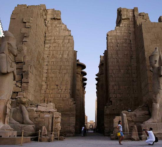 temple of karnak in egypt